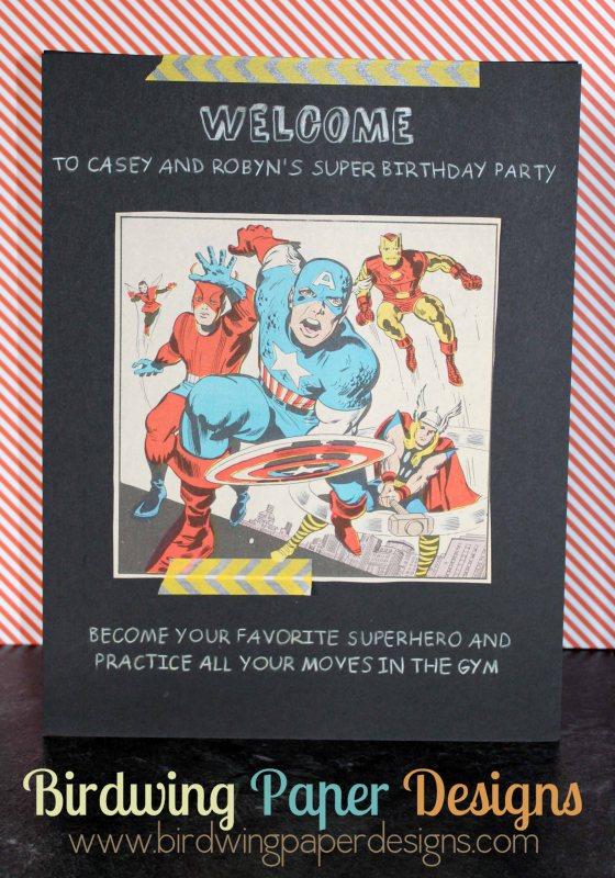 Welcome Superheroes