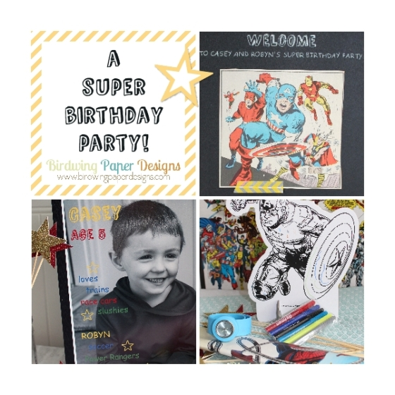 A Super Birthday Party