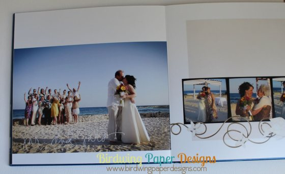 A Mexican Wedding photobook.