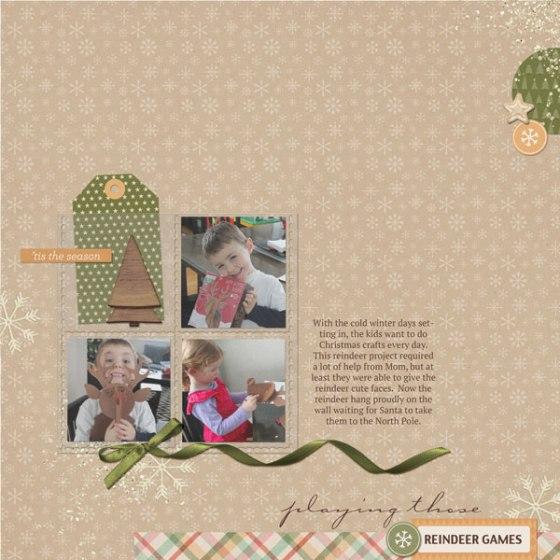 Reindeer Games by Birdwing Paper Designs