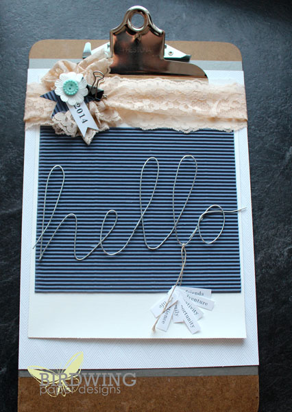 Clipboard Inspiration - Birdwing Paper Designs