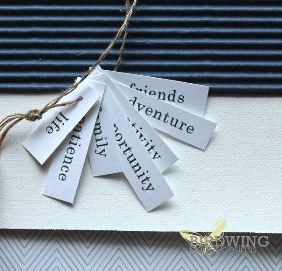 Inspired words for 2014 - Birdwing Paper Designs