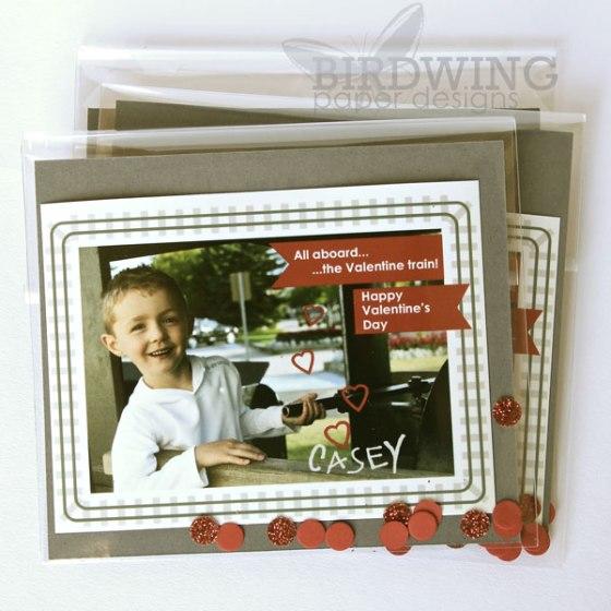 Valentine Photocards - Birdwing Paper Designs