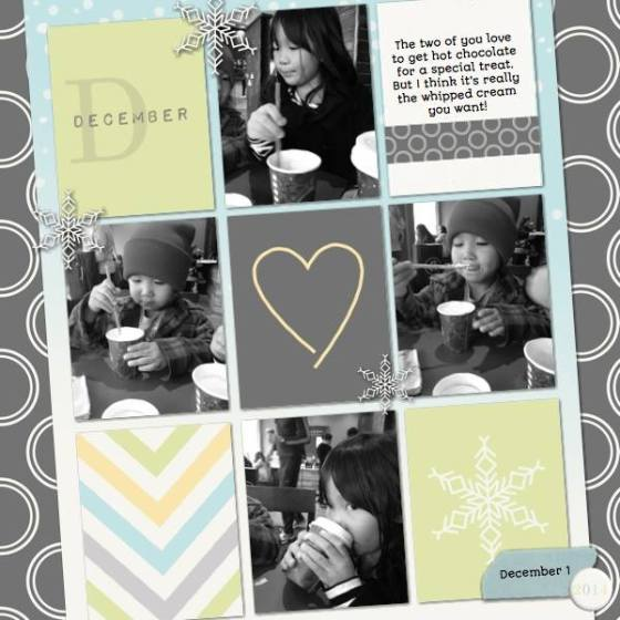 "Scrap Kat - digital elements from ""Hello 2014 - Winter Edition"" by Birdwing Paper Designs"