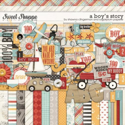 A Boy's Story - Digital Kit