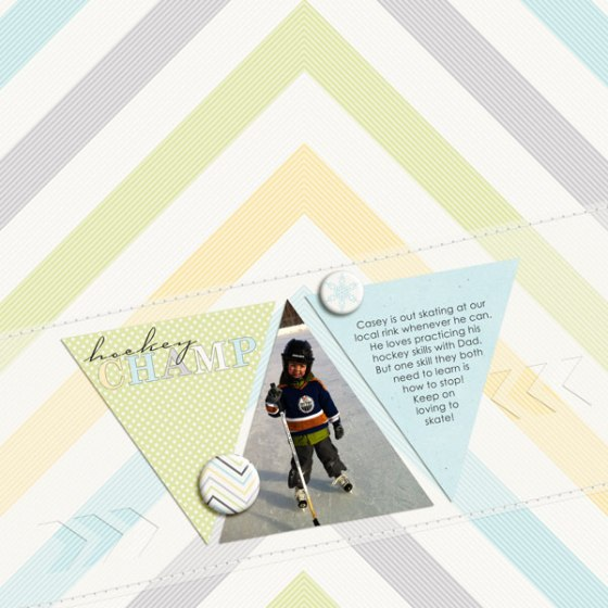 Hockey Champ - Birdwing Paper Designs