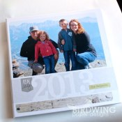 2013 Family Album - Birdwing Paper Designs