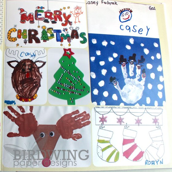 2013 Family Album - Birdwing Paper Designs