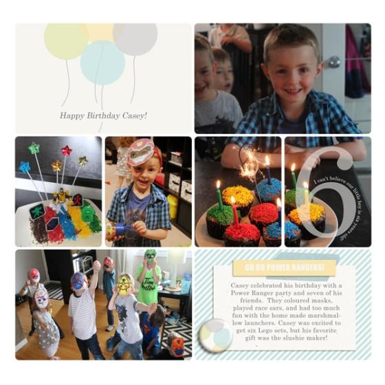 Happy Birthday Casey - Hello 2014 digital kit from Birdwing Paper Designs