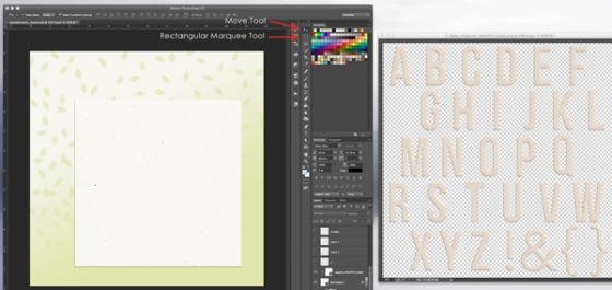 Recolouring Chipboard Alpha by Birdwing Paper Designs