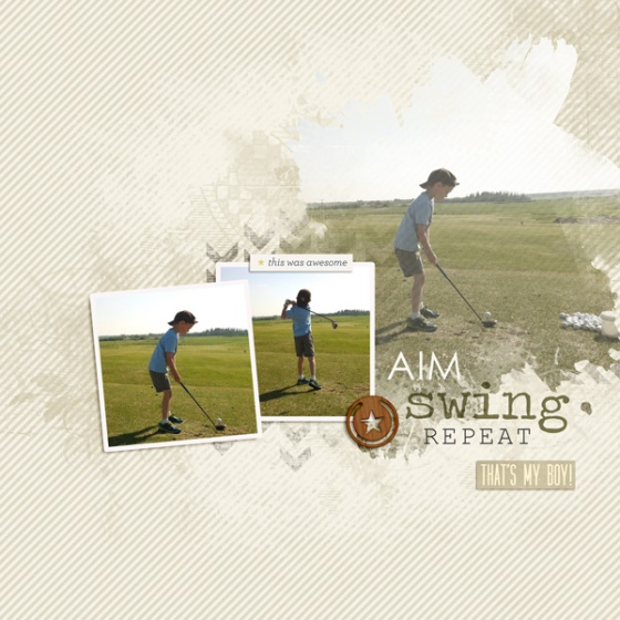 Swing by Birdwing Paper Designs