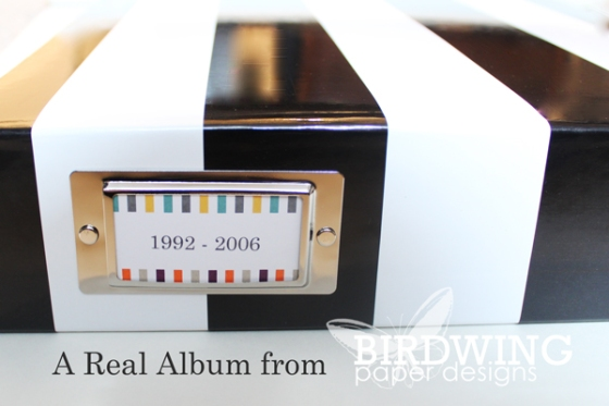 A Real Album - by Birdwing Paper Designs