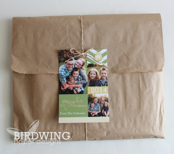 Gift Giving with Photo Cards - Birdwing Paper Designs