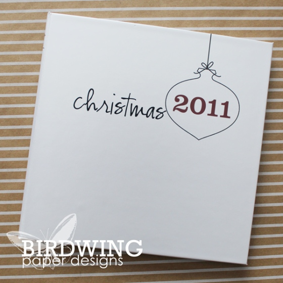 Christmas 2011 - Birdwing Paper Designs