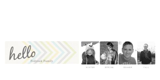 Family Album 2014 - Birdwing Paper Designs