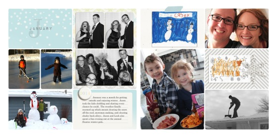 Family Album 2014 - Birdwing Paper Designs