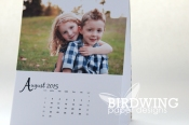 Desktop calendar printed by Ookpix - Birdwing Paper Designs