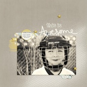 Awesome Hockey - Birdwing Paper Designs