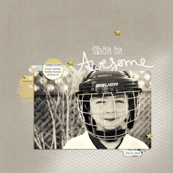 Awesome Hockey - Birdwing Paper Designs