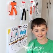 Kids Artwork Part 1 - Birdwing Paper Designs