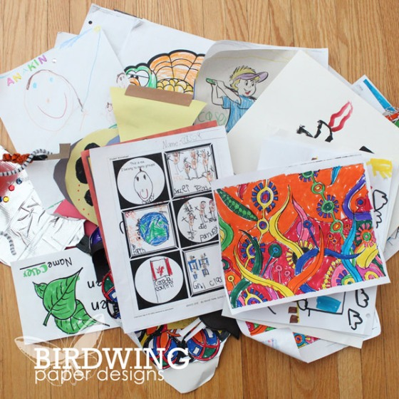 Kids Artwork Part 1 - Birdwing Paper Designs