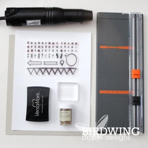 Simple Entryway Art - Birdwing Paper Designs