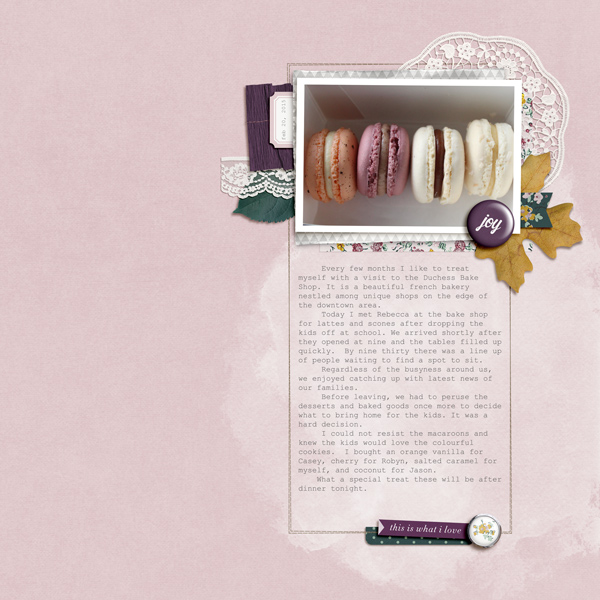 Macaroons - Birdwing Paper Designs