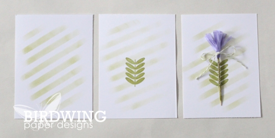 "A ""Spring"" Card - Birdwing Paper Designs"