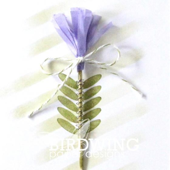 "A ""Spring"" Card - Birdwing Paper Designs"