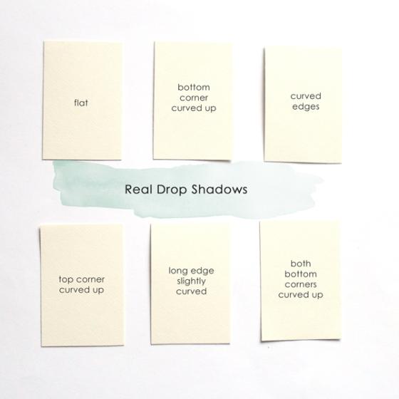 Quick Realistic Drop Shadows - Birdwing Paper Designs