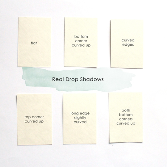Quick Realistic Drop Shadows - Birdwing Paper Designs