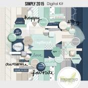 Simply 2015 Digital Kit - Birdwing Paper Designs