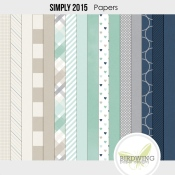 Simply 2015 Papers - Birdwing Paper Designs