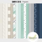 Simply 2015 Papers - Birdwing Paper Designs