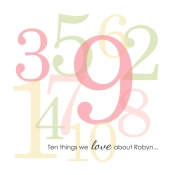10 Things I Love About You (Part 2) - Birdwing Paper Designs