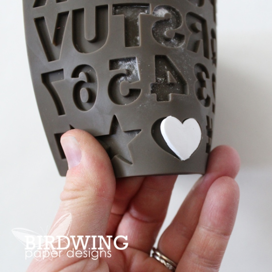 Pressed Clay Wall Art Project - Birdwing Paper Designs