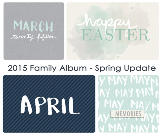 2015 Family Album Spring Update - Birdwing Paper Designs