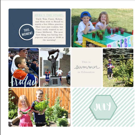 2015 Family Album Summer Update - Birdwing Paper Designs