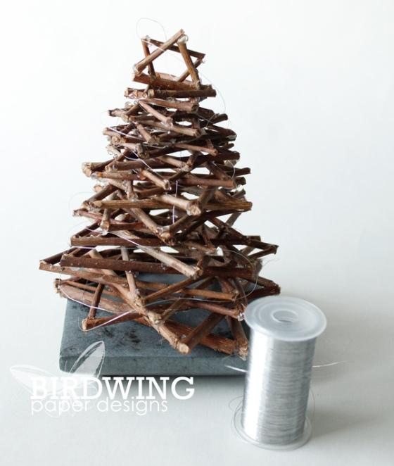 Little Twig Holiday Tree - Birdwing Paper Designs