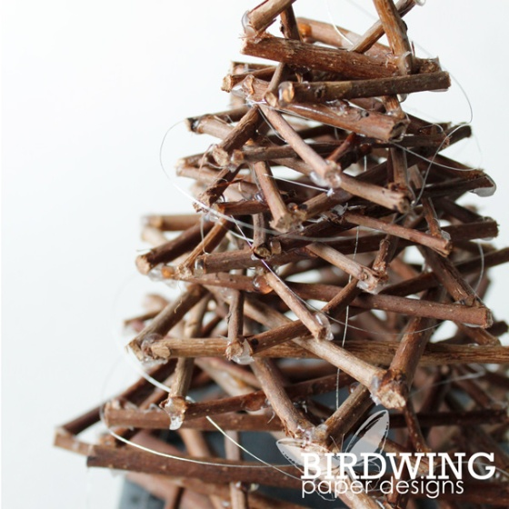 Little Twig Holiday Tree - Birdwing Paper Designs
