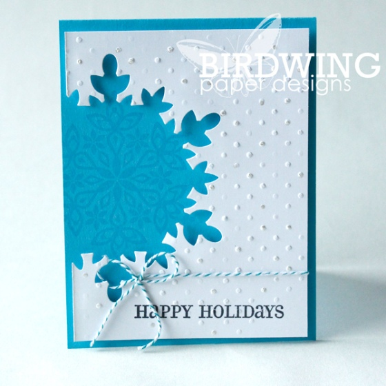 4 Cards 5 Days - Birdwing Paper Designs