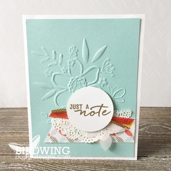 Birdwing Paper Designs 2018 - Stampin' Up!