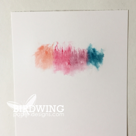 Creating Colour Gradations - Birdwing Paper Designs