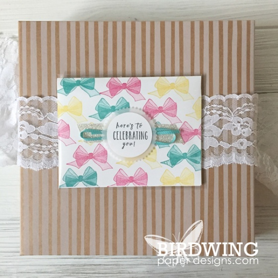 Stampin' Up! Birthday Cards - Birdwing Paper Designs