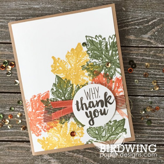 October Card Pack - Birdwing Paper Designs