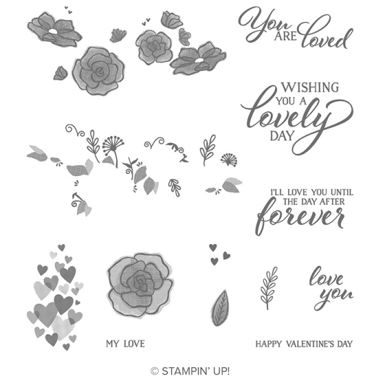 forever lovely - stampin' up!