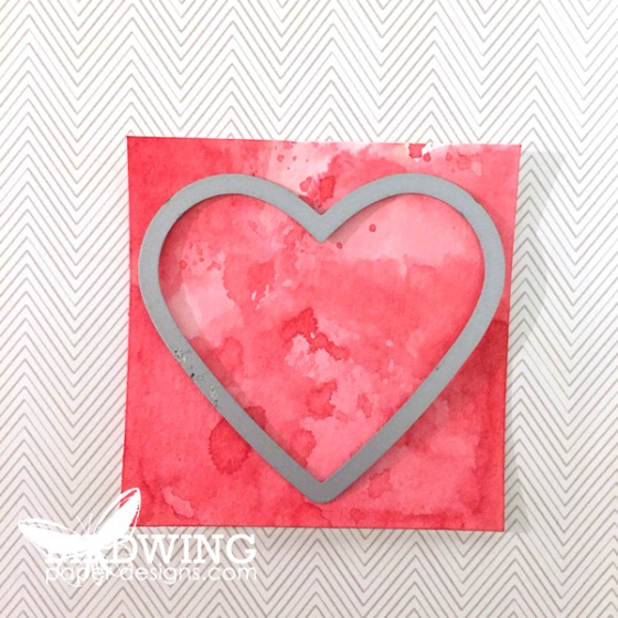 Watercolour Hearts-2 Ways - Birdwing Paper Designs