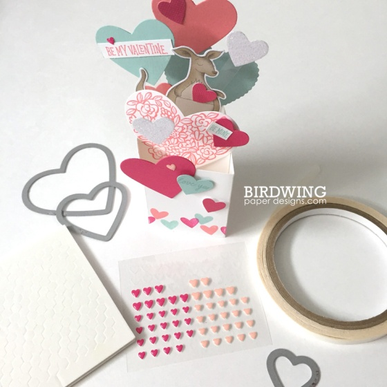 Valentine's Box Cards - Birdwing Paper Designs