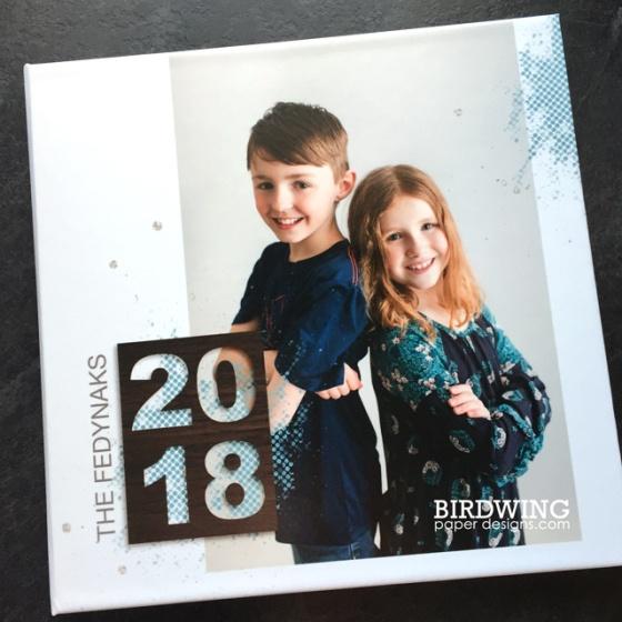 2018 Family Photo Book - Birdwing Paper Designs