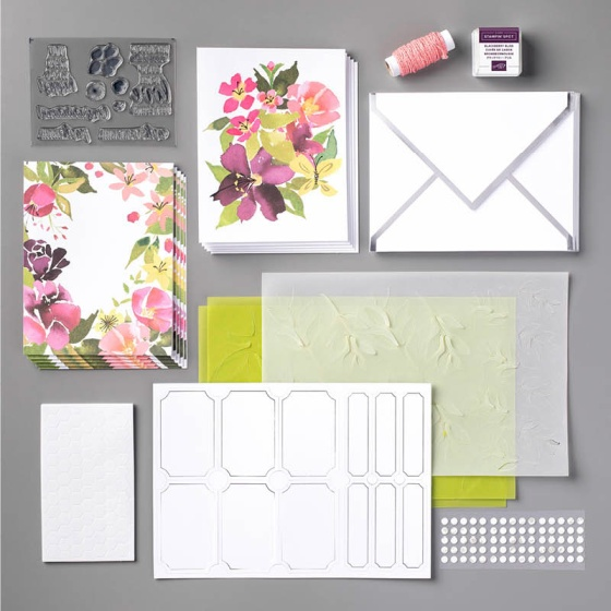 Blissful Blooms Paper Pumpkin Kit August 2018 - Stampin' Up!